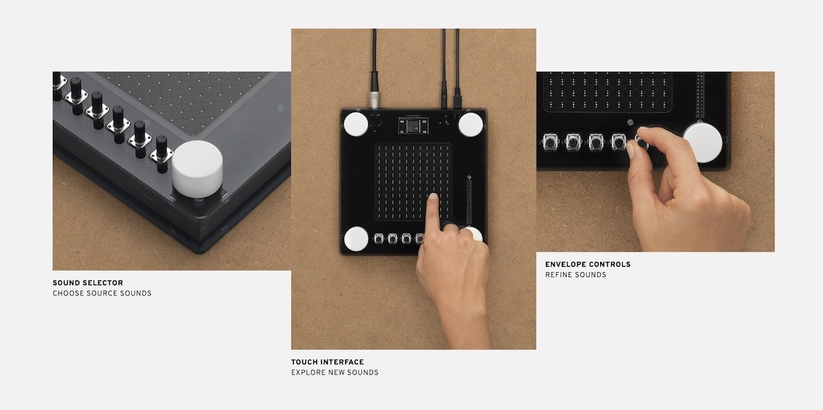 Google NSynth Super: A synthesizer with touch screen and Raspberry