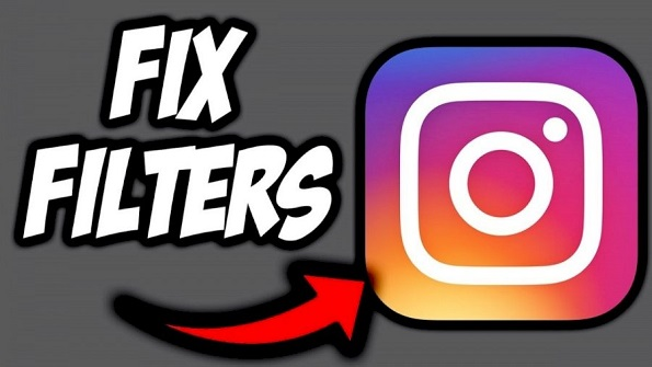 Instagram face filters not showing
