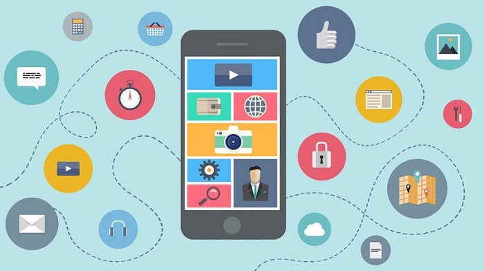 Mobile apps of retailers