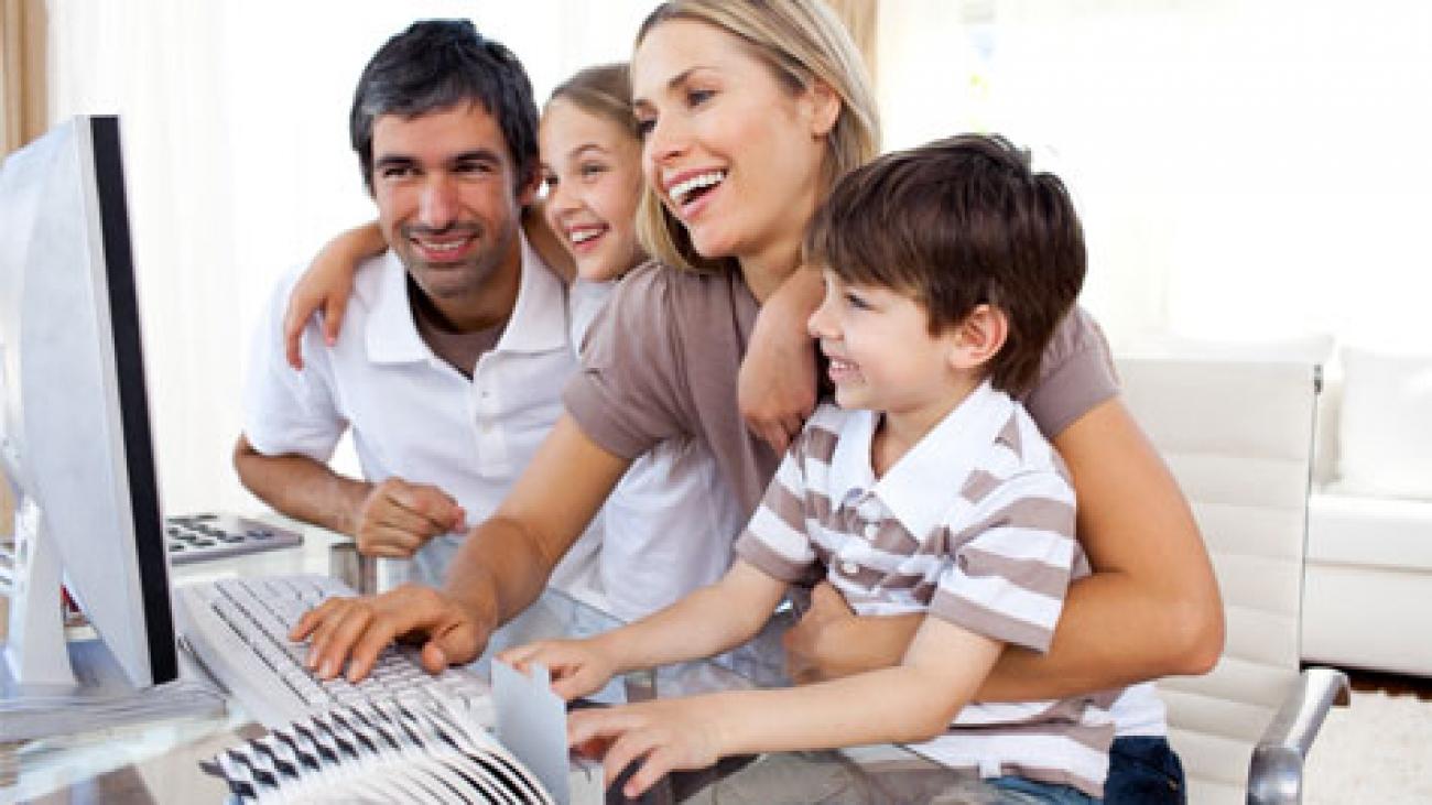 family-using-high-speed-internet