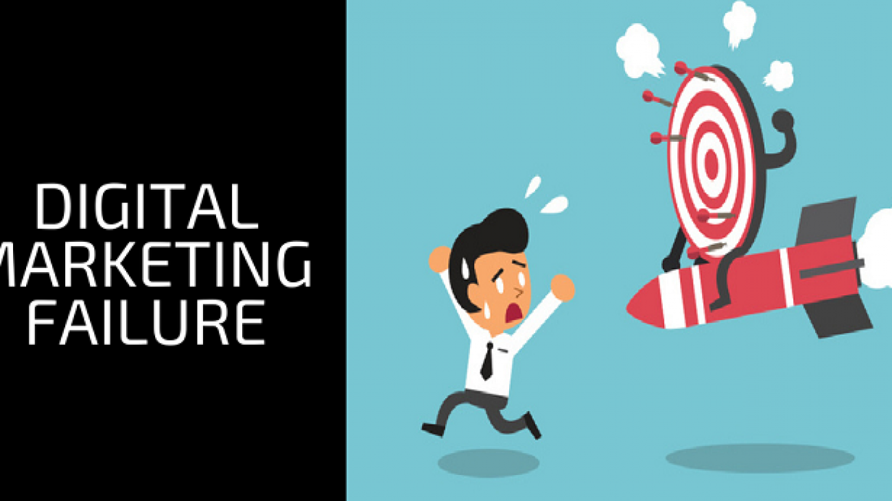 Top Signs Your Digital Marketing is Failing