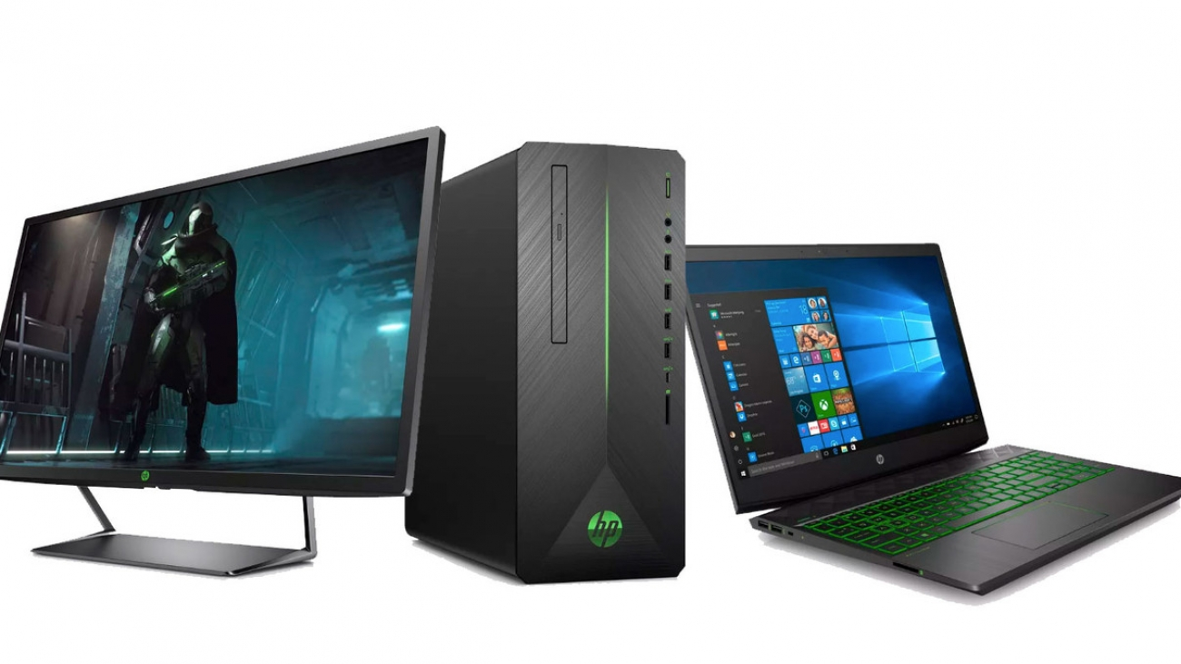 HP gets into the gaming entry range with the Pavilion line Computers and monitors below $1000