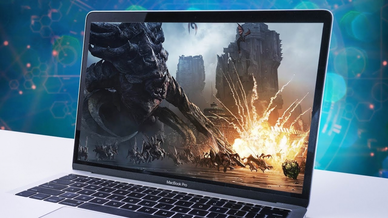 install games on Mac