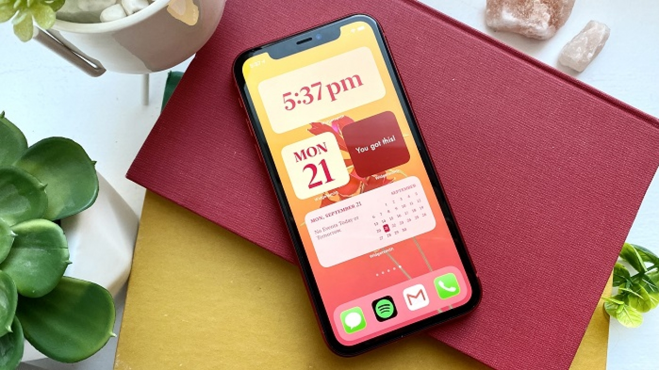 how to customize widgets on iphone