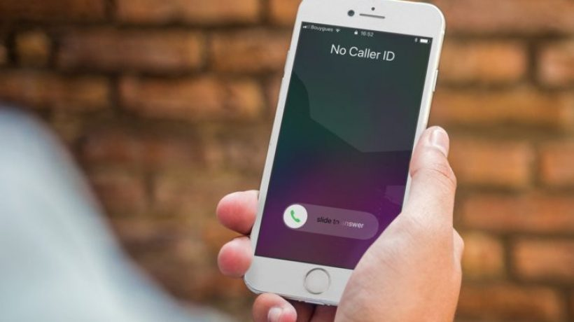 How to hide caller id on iphone?
