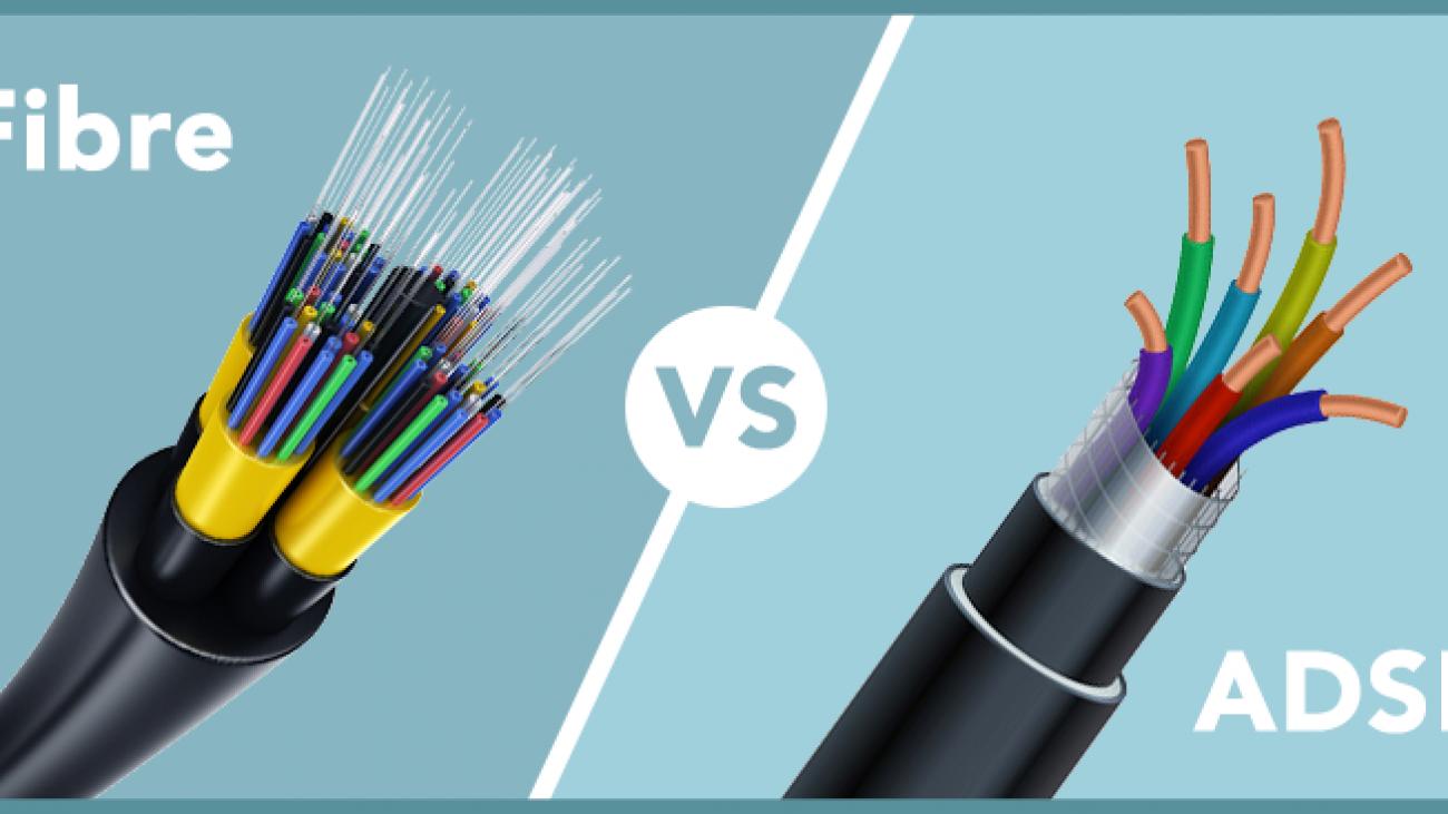 adsl vs fiber