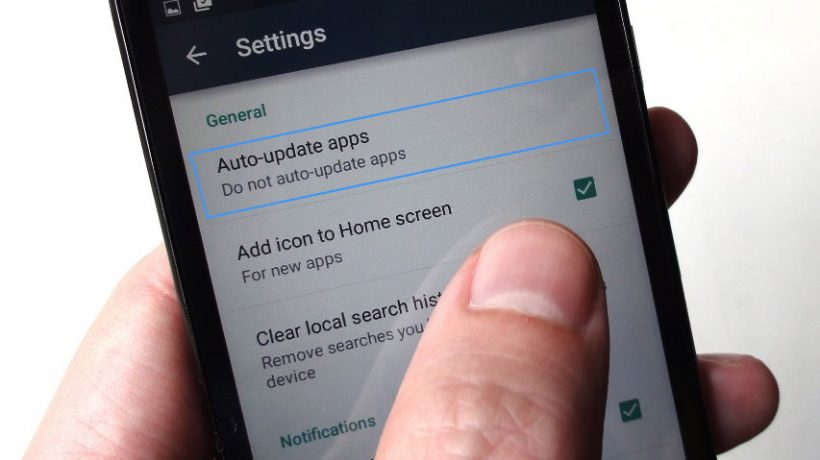 How to turn off automatic updates on Android?