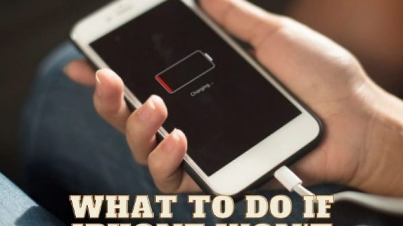 What to do when your iphone won't charge or turn on